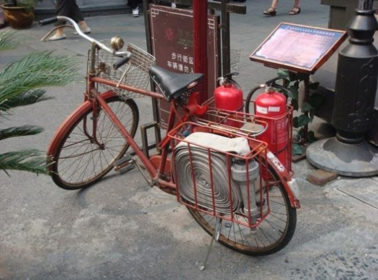 Fire bicycle