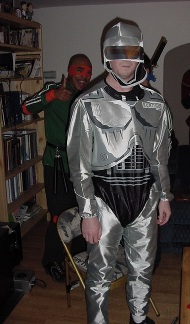 Low Budget Robocop Costume Really Funny Pictures