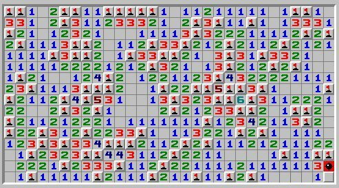 Minesweeper fail