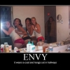 Motivational Poster: Envy