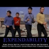 Motivational Poster: Expendability