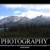 Motivational poster: Photography