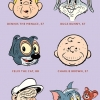 Old cartoon characters