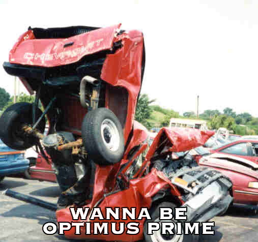 Optimus Prime wannabe