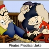 Pirates practical joke