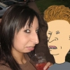 Real-fe female Beavis
