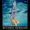 Reverse mermaid
