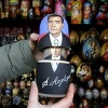 Russian presidents Matryoshka doll