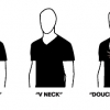 T-shirt neck types