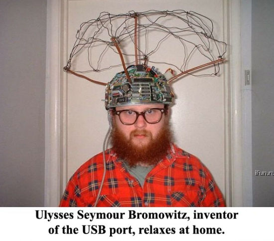 The inventor of USB