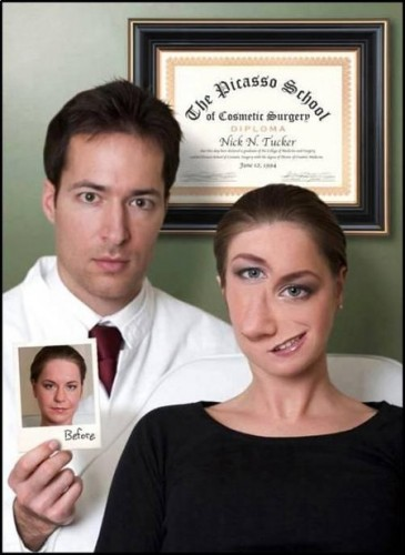 The Picasso School of Cosmetic Surgery