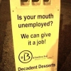 We can give your mouth a job