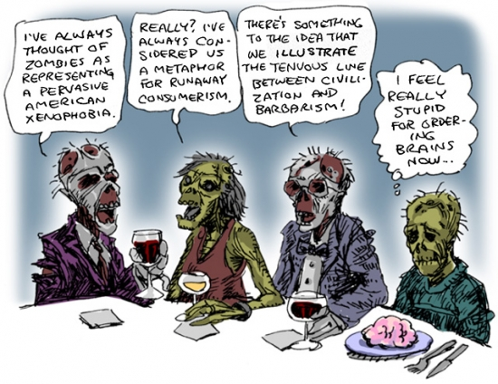 Zombies with social issues