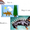 Build your own stegosaurus