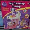 My cleaning trolley