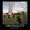 Originality motivational poster