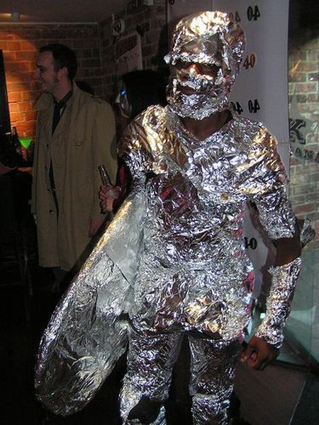 Silver surfer costume