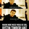 Advice for Justin Timberlake