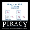 Piracy vs theft