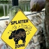 Splatter zone