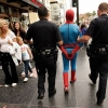 Arrested Spiderman