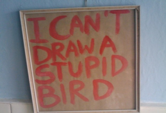 Ugly Bird Drawing Funny