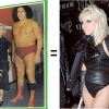 Deborah Harry + Andre the Giant = Lady Gaga