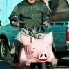 Flying pig motorcycle
