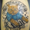Keyboard Cat tattoo