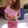 Little girl tramp stamp