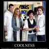 Motivational poster: Coolness
