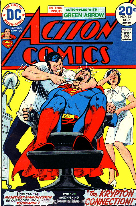 Superman's toothache