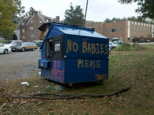 No babies please