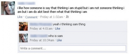 The sam thing