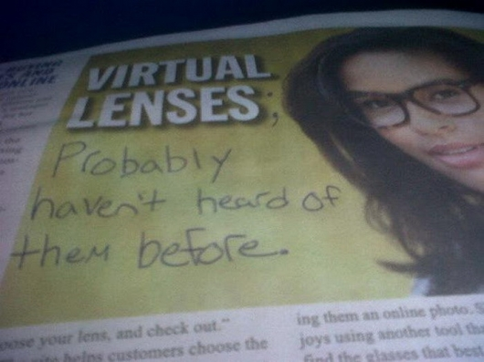 Virtual lenses
