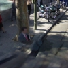 Planted man on Google streetview