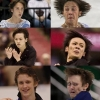 Figure skating faces