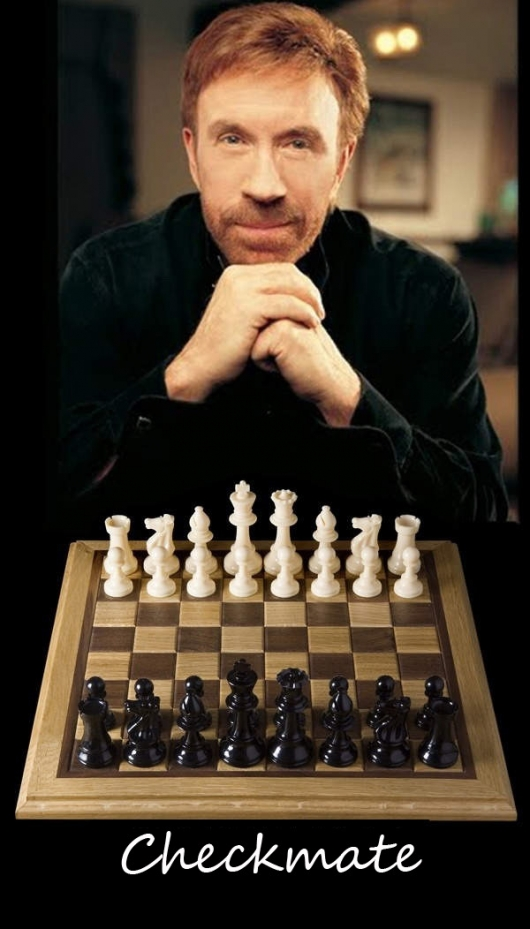 Chess with Chuck Norris