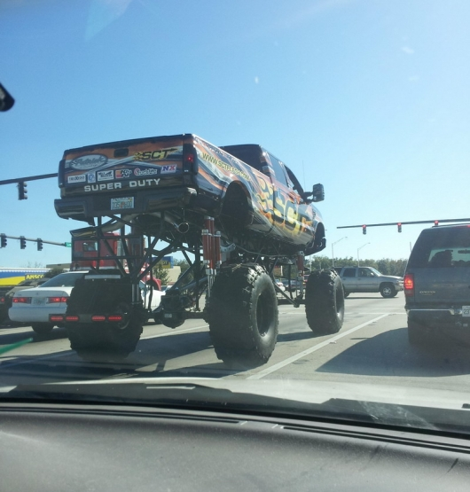 High monster truck