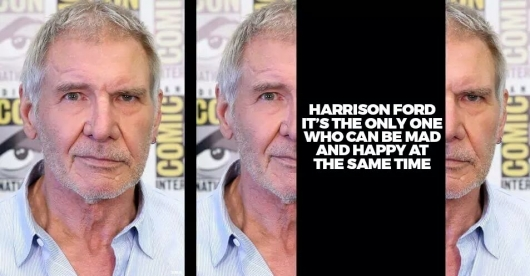Harrison Ford face