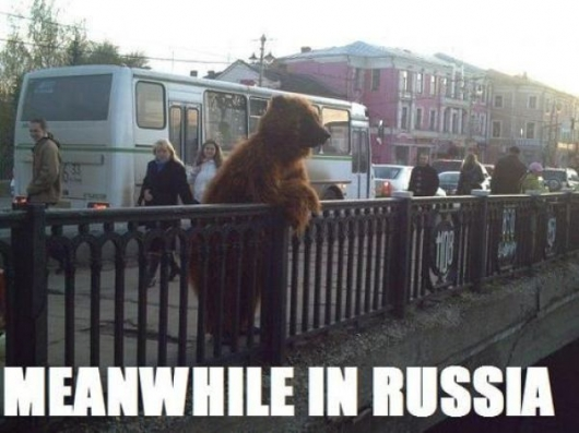 Meanwhile In Russia Really Funny Pictures Collection On