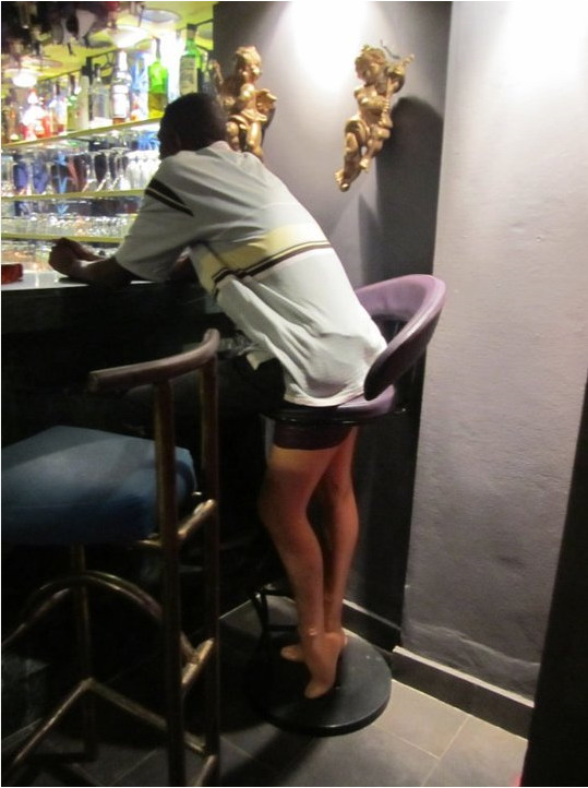 Bar stool legs - Really funny pictures collection on ...