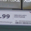 Welsh lady ass fudge