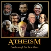Motivastional Poster: Atheism
