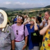 Wathcing the solar eclipse