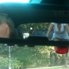 Rear-view mirror cleavage