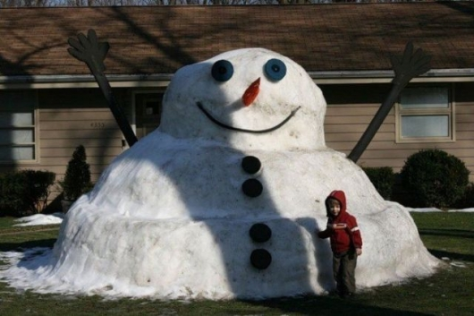 Fat Snowman Really Funny Pictures Collection On Picshag Com