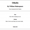 The short version of Othello